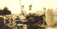 Photo of person on tractor